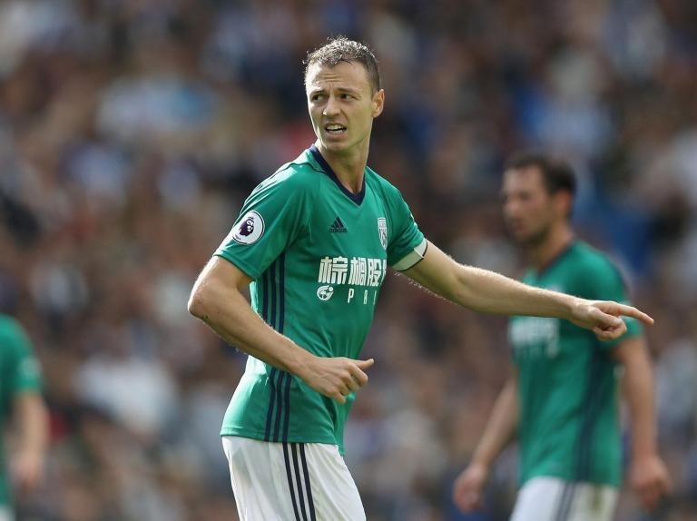 Tony Pulis delighted West Brom kept Manchester City target Jonny Evans as he prepares to face them for first time since