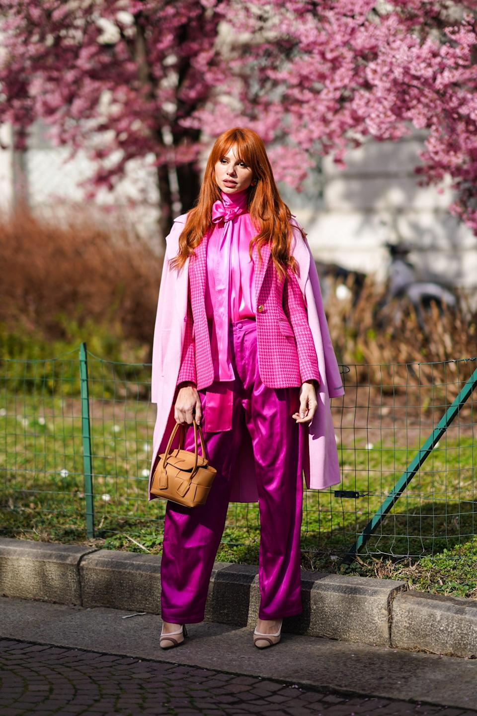 """<p>Red is the power color for fire sign Aries, which means the warm, copper """"tiger daylily"""" hair color trend is made for you. Thanks to Beth Harmon from <strong>The Queen's Gambit</strong>, the shade is having a major moment this year.</p>"""