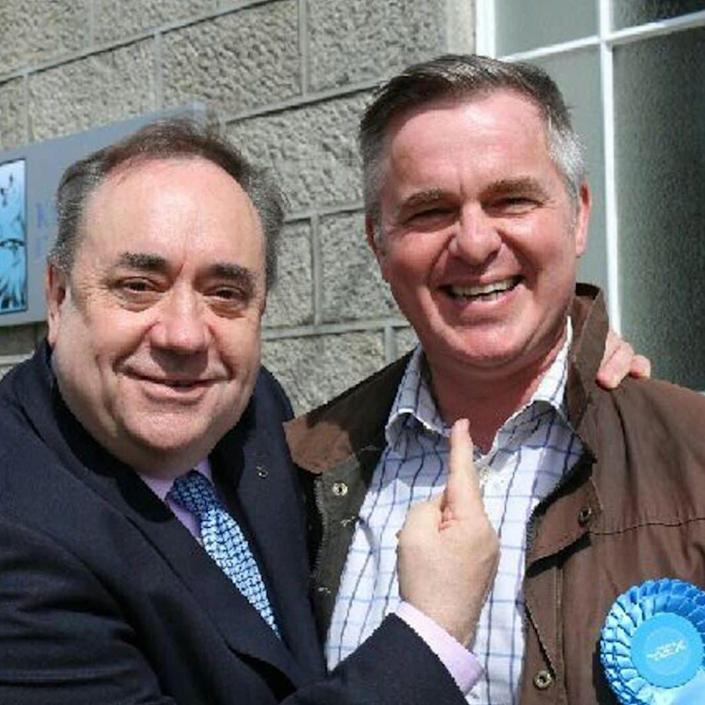 Colin Clark has become known as the Salmond Slayer due to his exploits in the 2017 election - submitted/submitted