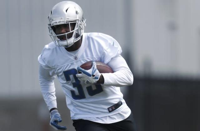 """Fantasy owners seeking RB value in the middle rounds should chase down Lions rookie <a class=""""link rapid-noclick-resp"""" href=""""/nfl/players/31013/"""" data-ylk=""""slk:Kerryon Johnson"""">Kerryon Johnson</a>. (AP)"""
