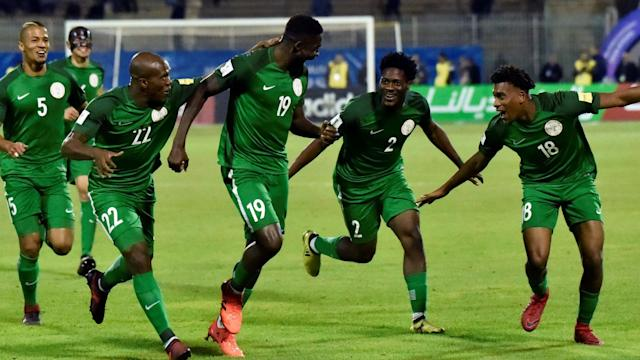 The midfielder lined a 25-yard curler to put the Super Eagles in front, and the Fennecs handler is convinced few shot-stoppers can match its quality