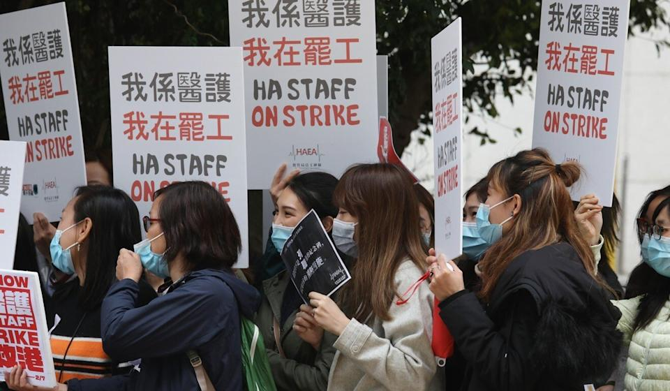 The strike was called off after five days. Photo: Nora Tam