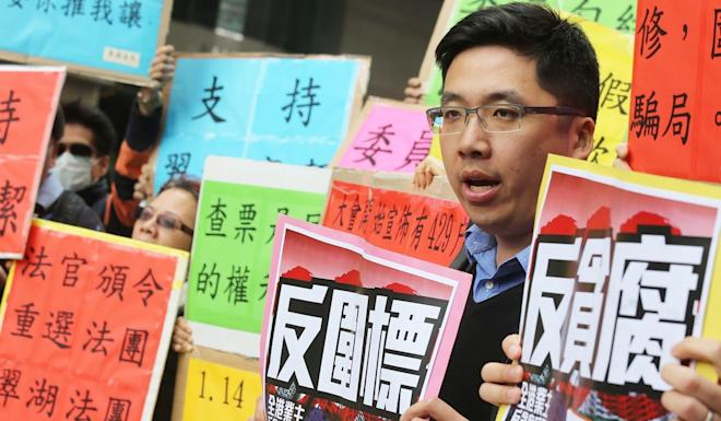Labour Party's Lloyd Chiu. Photo: Dickson Lee