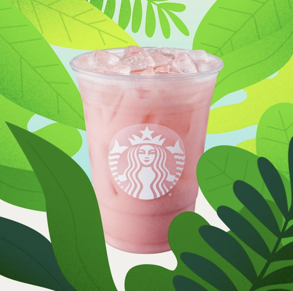 <p>Not your typical pink drink, this guava passionfruit iced drink has tropical flavors and is mainly worth it for the Insta potential. </p>
