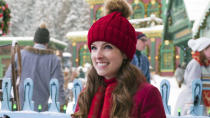 In this Disney+ offering, Anna Kendrick plays Santa's daughter as she attempts to take over the family business when her brother (Bill Hader) is less than keen. (Credit: Cate Cameron/Disney+)