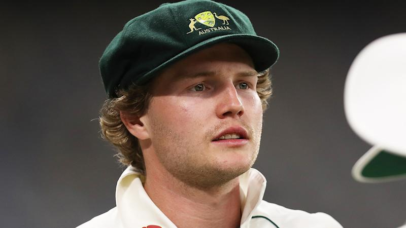Victorian batsman Will Pucovski, pictured during Australia A's match against Pakistan, has asked not be be included in the Test side.