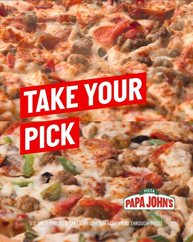 """<p>On National Pizza Day, Papa John's is gifting us with 25 percent off regularly priced menu items.</p><p><a href=""""https://www.instagram.com/p/B2Hhn5eFgCu/"""">See the original post on Instagram</a></p>"""