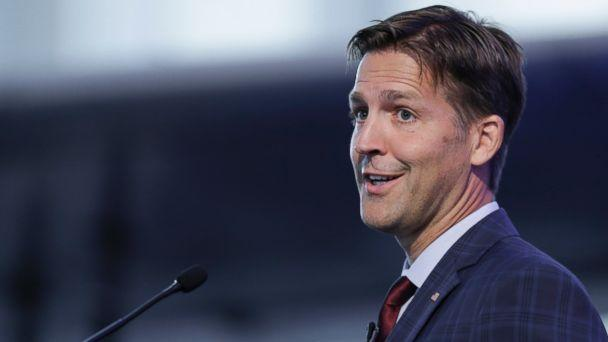 In this Wednesday, Aug. 9, 2017 file photo, Sen. Ben Sasse, R-Neb., speaks during a legislative summit featuring Nebraska's elected Congressional and House officials, in Ashland, Neb. (AP)