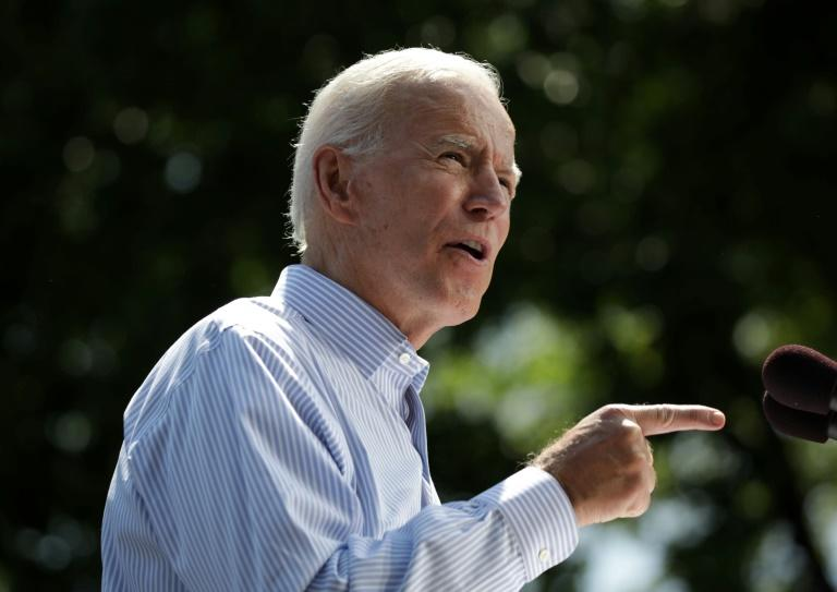 Former US vice president Joe Biden strongly defended his ties to the African-American community -- but his comments angered some and sparked calls of racism from President Donald Trump's camp