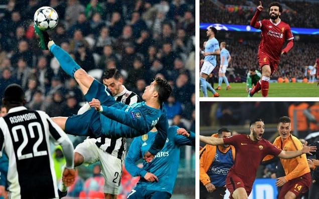 Ronaldo, Salah andManolas have provided some of the stand out moments of this year's competition