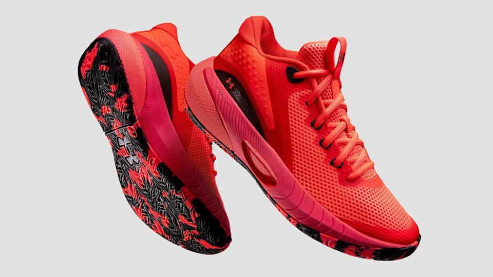 Where to buy the UA Hovr Breakthru, Under Armour's first basketball sneaker specifically designed for women