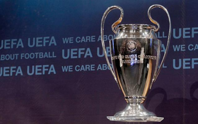 The Champions League trophy will be up grabs in this year's Cardiff final  - Reuters