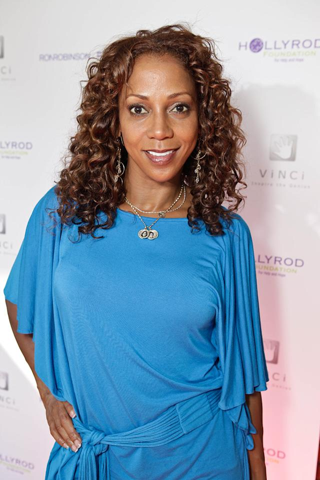 "Holly Robinson Peete (""The Talk"") turns 47. Tiffany Rose/<a href=""http://www.wireimage.com"" target=""new"">WireImage.com</a> - August 10, 2011"