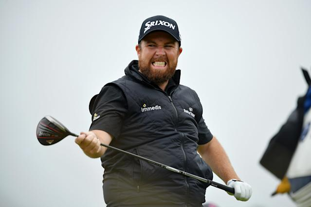 Shane Lowry flexed his way through an astounding week to win the Open Championship. (Getty)