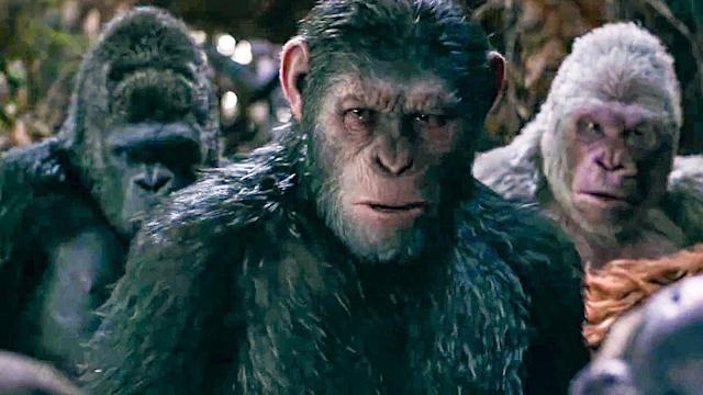 Andy Serkis as Caesar in 'War for the Planet of the Apes'. (Credit: Fox)