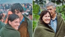 Couple who met at Woodstock in '69, recreate the moment 50 years later