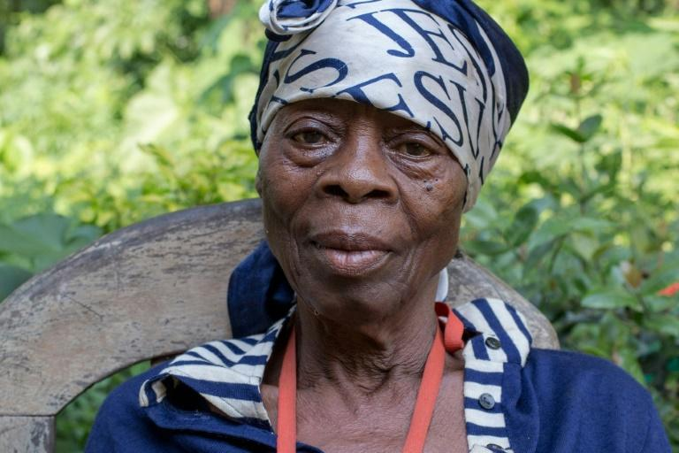 Survivor: Odile Mbouma says she saw dozens of people slaughtered by French troops who were hunting for Cameroonian independence fighters (AFP Photo/-)