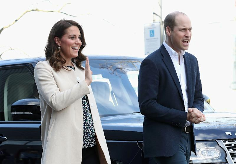 The Duke and Duchess of Cambridge showed newborn son