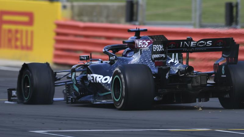 Pirelli punctures at Silverstone caused by tyre wear and not debris