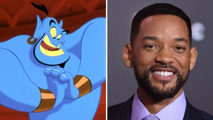'Aladdin' genie voiced in 1992 by Robin Williams and Will Smith