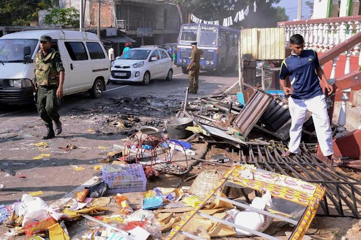 The Facebook block was imposed across Sri Lanka during anti-Muslim riots that left three people dead (AFP Photo/-)