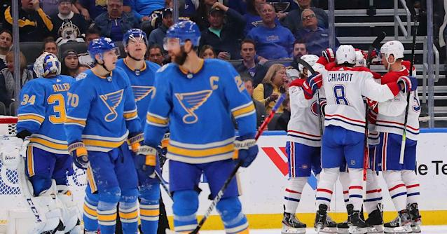 The Blues have gotten off to an inconsistent start to the season