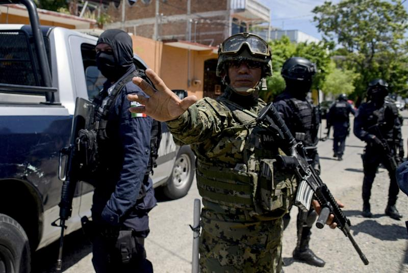 Mexican Authorities Disarm Acapulco Police Amid Infiltration Concerns By Drug Gangs