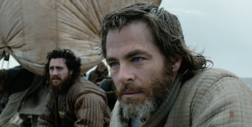 Chris Pine as the Outlaw King (Netflix)