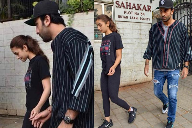Ranbir Kapoor Takes Injured Alia to the Doctor