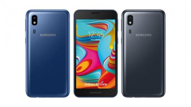 Samsung could soon announce the entry-level Galaxy A2 Core Android Go phone and a new report claims to have the key specifications of the device along with its price.
