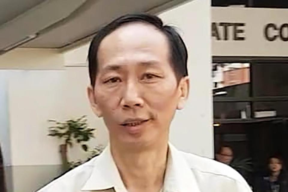 Chin Peng Sum, 51, seen outside the State Courts. (FILE PHOTO: Wan Ting Koh/Yahoo News Singapore)