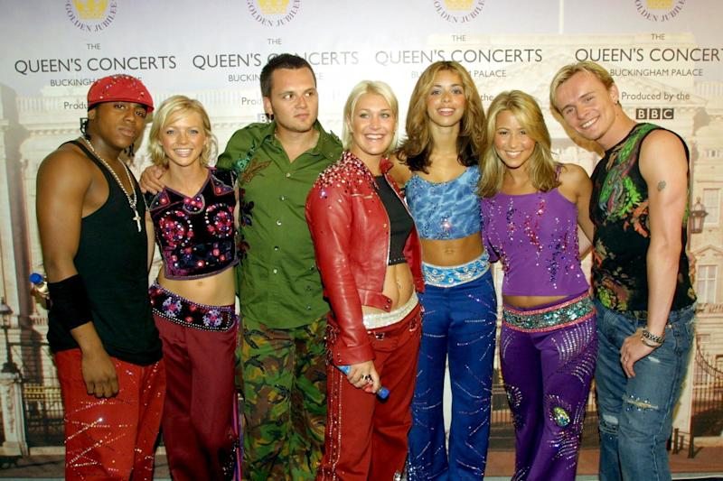 S Club now consists of Jo O'Meara, Tina Barrett and Bradley McIntosh. (Photo: HuffPost UK)