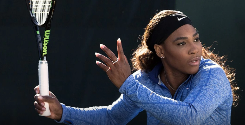Get tennis tips from none other than Serena Williams. (Photo: MasterClass)