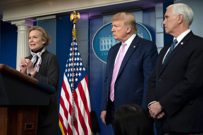 Trump eager to restart economy by May as he weighs 'toughest ...