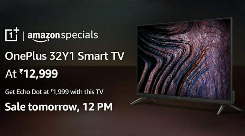 OnePlus 32-inch Smart TV to go on online sale tomorrow