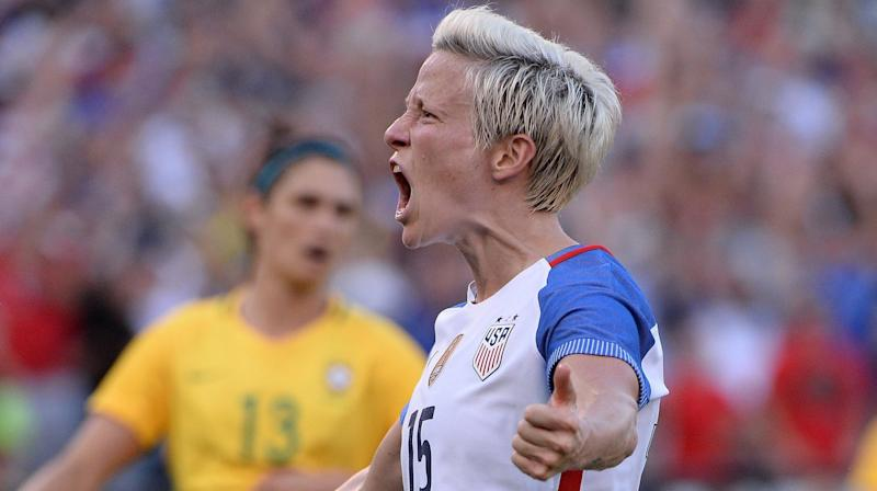 Seattle Star Megan Rapinoe Blasts Soccer's World Body As 'Old, Male And Stale'