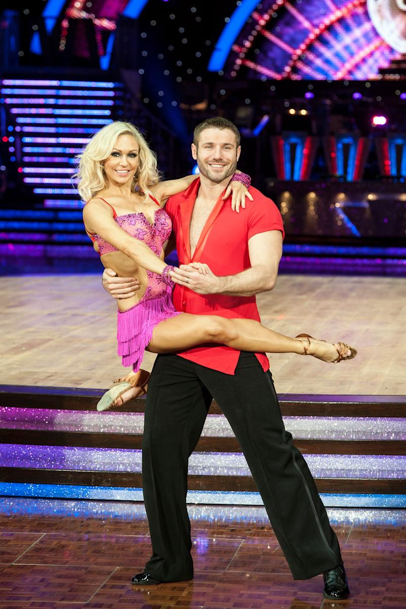 While on the show, Ben denied rumours that he was romancing his pro partner Kristina Rihanoff, though he later split from his wife Abby. He and Kristina went on to confirm their relationship but remained insistent it had only began after the breakdown of his marriage. The couple now have one child together.