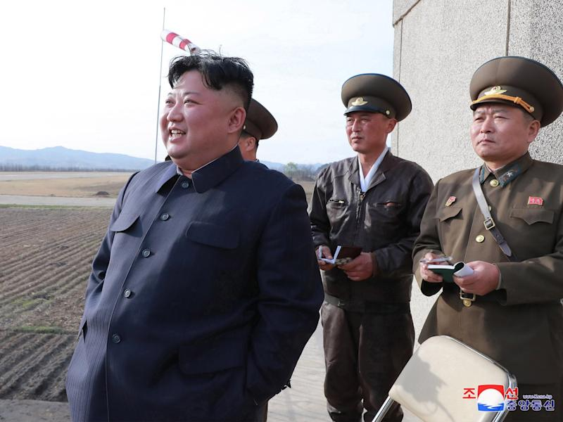 North Korea fires new 'tactical guided weapon', state media claims