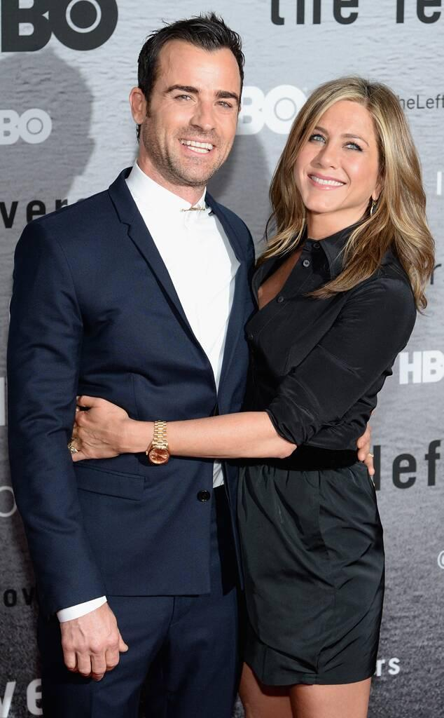 Justin Theroux, Jennifer Aniston, The Leftovers premiere 2014