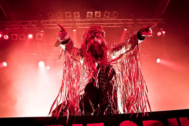 Rob Zombie performs in Berlin in October 2016 (photo: Redferns)
