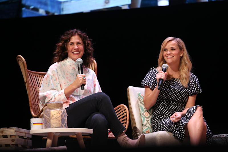 Walsh and Reese Witherspoon in Chicago for Together Live 2018