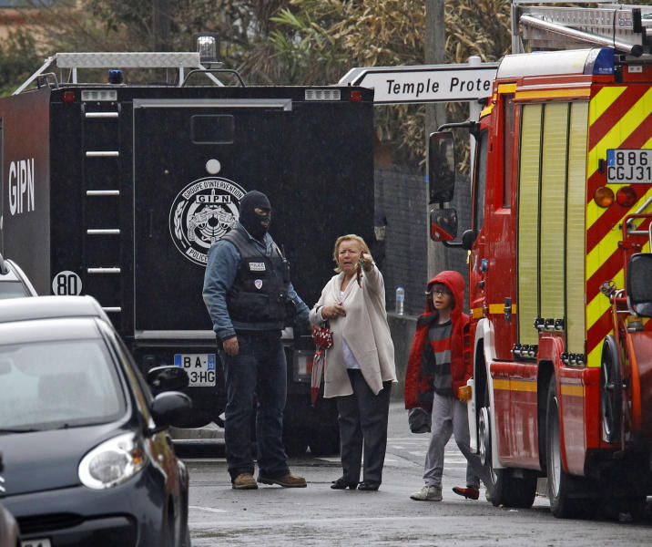 French Terror Suspect Shot In Head By Police
