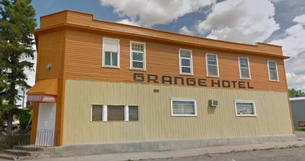 This is how the Grange Hotel in Carmangay looked in 2012. The hotel burned down on March 27, 2021.
