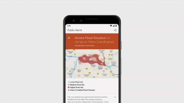 Google's AI finds possibility of devastating floods in areas and will send real-time alerts to people who could be affected by the rising water.