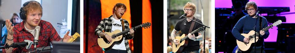 Singer Ed Sheeran has had a similar style for his whole career