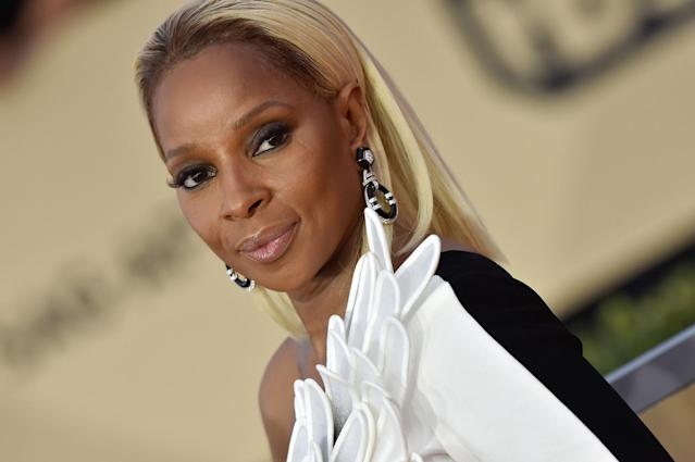Blige as we more often see her. (Photo: Getty Images)