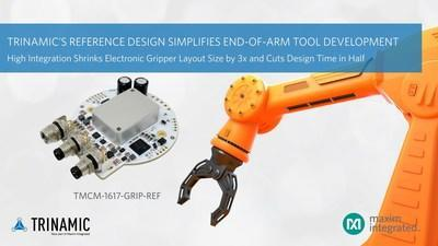 Trinamic's Open-Source Reference Design Shrinks Size and Speeds Development of End-of-Arm Tooling