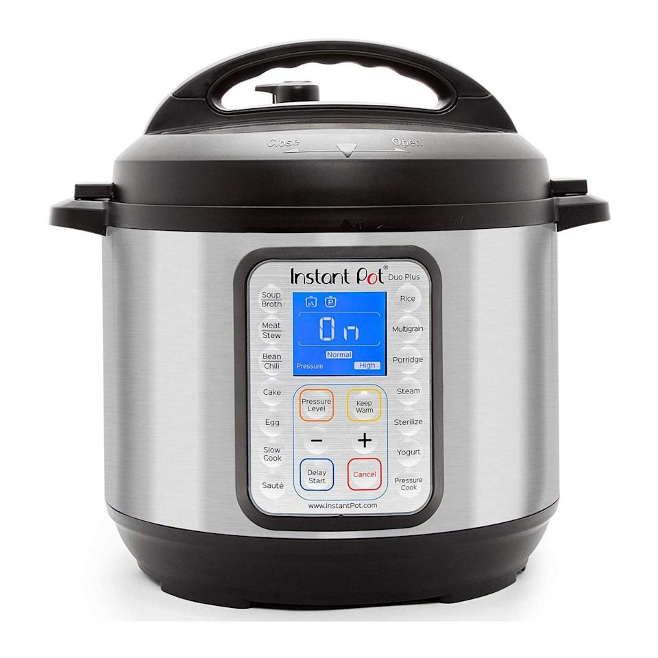 """<p><strong>Instant Pot</strong></p><p>amazon.com</p><p><strong>$99.95</strong></p><p><a href=""""https://www.amazon.com/dp/B07RCNHTLS?tag=syn-yahoo-20&ascsubtag=%5Bartid%7C10063.g.34655387%5Bsrc%7Cyahoo-us"""" rel=""""nofollow noopener"""" target=""""_blank"""" data-ylk=""""slk:Shop Now"""" class=""""link rapid-noclick-resp"""">Shop Now</a></p><p>Millennials across the country during quarantine ventured into their kitchens like they never had before. For kitchen experts or beginners, creations made in the Instant Pot are so good and easy to make. From spaghetti to hard boiled eggs (the shell peels right off!) it will become your best friend. </p>"""