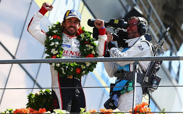Fernando Alonso claims Le Mans victory with Toyota as he closes in on motor racing's Triple Crown