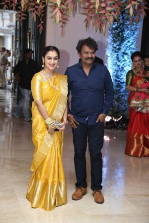 Director Hari with wife Preetha Vijayakumar